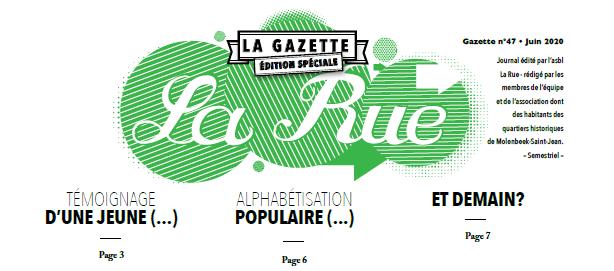 Gazette de La Rue – Numéro Spécial