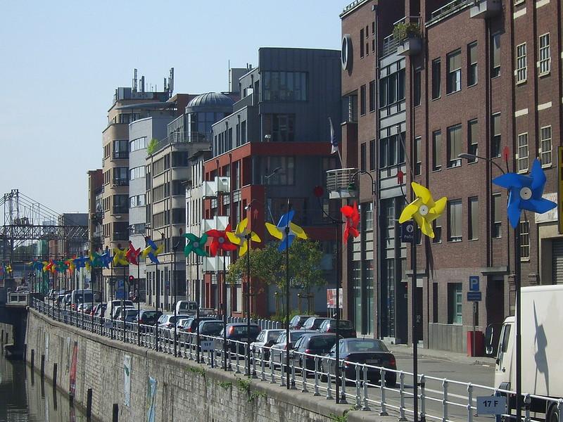 Pour une trêve sur les projets de densification le long du Canal à Molenbeek