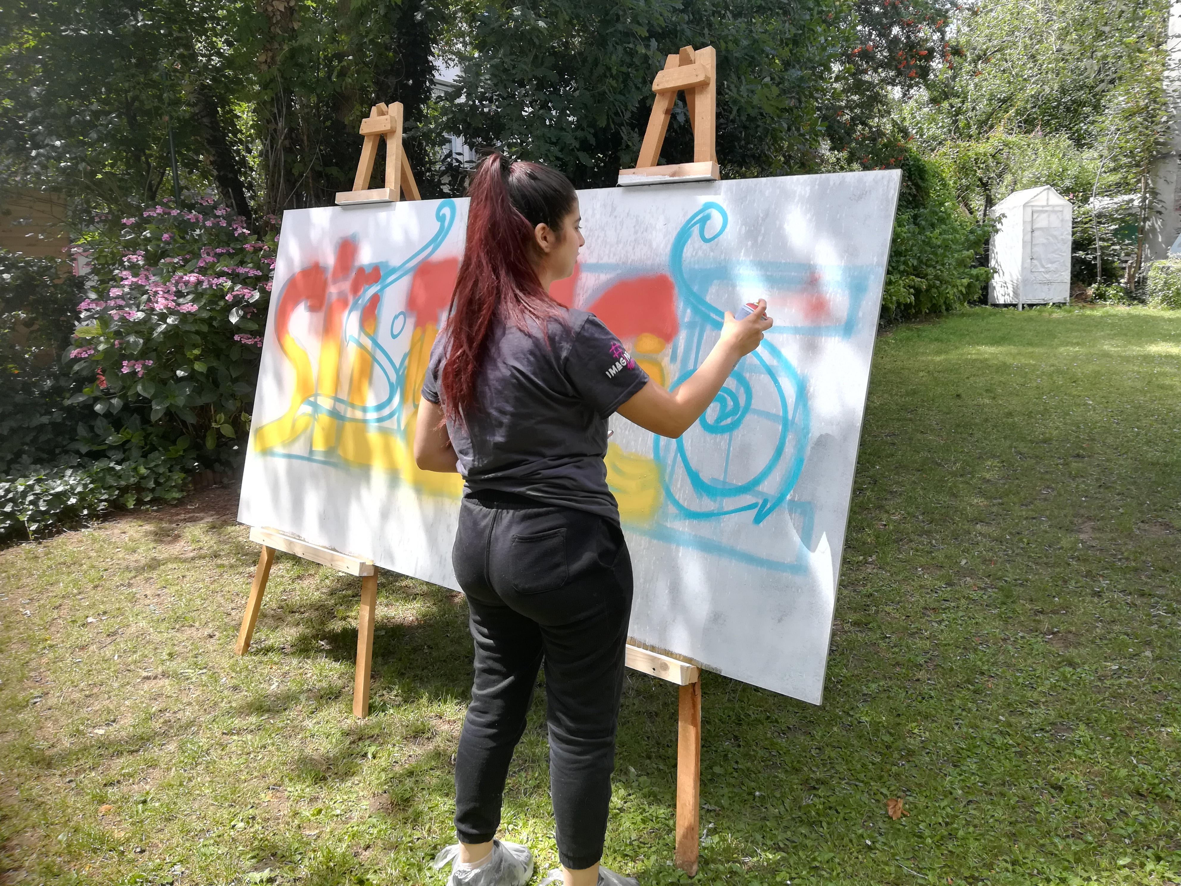 Reprise des ateliers P@sserelles avec l'Espace Jeunes cet été