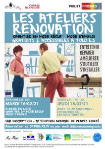 2 présentations sur la rénovation en économie circulaire